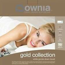 DOWNIA Gold Collection White Goose Down Quilt Doona Cotton Casing Double Size