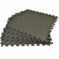 30 x INTERLOCKING SOFT FOAM EXERCISE FLOOR MATS GYM MAT Easy to Transport Store