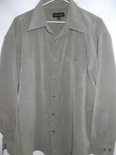 CONTEMPORARY Mens Long Sleeve Casual Shirt size L