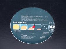 """VESTA (WILLIAMS Running Into Memories 12"""" A&M SP-17686 (1988) NM PROMO Funk"""