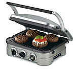 NEW & SEALED 5 in 1 Electric Tabletop Grill Panini Grill Sandwich Press Griddle