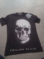 """t-shirt philipp plein neuf modele round neck ss """"kivo"""" Taille Xl"""