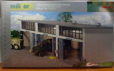 Herpa 745802 Military Gebäudebausatz Reparaturhalle 3-ständig