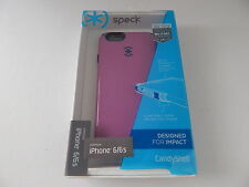 Speck Products CandyShell Case for iPhone 6 & iPhone 6S Shock Protection Purple