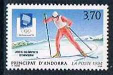 Andorre 1994 Yv N°441 Mnh**  Jeux olympiques d'hiver à Lillehammer