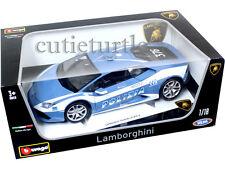 Bburago Lamborghini Huracan LP610-4 1:18 Diecast Model Car 18-11041 Police