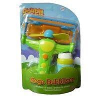 Double Bubble Mega Bubbliser Bubble Maker Including Solution Outdoor Toy NEW