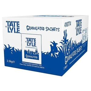 Tate & Lyle Sugar Sachets Pack of 1000 -approx 1000 sticks