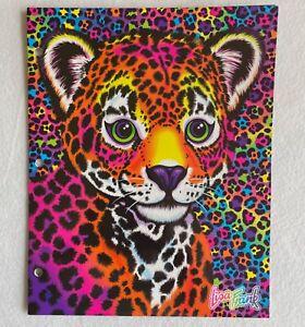 Lisa Frank 30th Birthday Retro 90's 2 Pocket Portfolio Glitter Folder NEW 2021