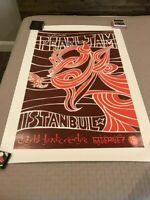 Pearl Jam 1996 Istanbul Ames Bros 2XL Poster XX/100
