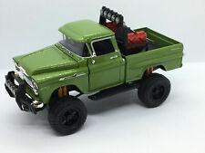 Motormax 1/24 OFF ROAD 1958 Chevy Apache Fleetside Truck GREEN 79135-GREEN