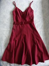 "VILA rose pink fitted strappy ""Jenka"" dress size 10 / S - BNWOT"