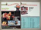 Wix Wax Candlemakers Kit 4-Page Print Ad - 1972 ~ Candlemaking, Candle Making