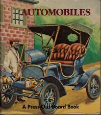 Automobiles - Press Out Board Book with Removable Stand-Up Play Figures - Smeets