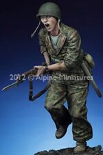 "Alpine Miniatures USMC ""The Charge"", 1:16 scale (120mm) Kit 16018, NIB, Resin"