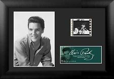 Film Cell Genuine 35mm Framed & Matted Elvis Presley S23 Minicell USFC5102