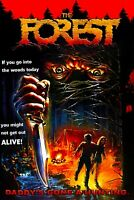 """The Forest""""  35mm Feature Film  Movie (1982) horror/slasher 🔥"""