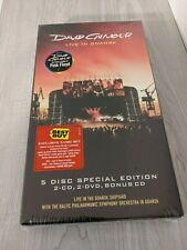 David Gilmour Live in Gdansk 5 Disc Special Edition Box New Sealed Pink Floyd
