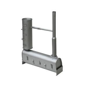 Auspuff Silent zu 2 Zylinder Dieselmotor 19PS 794ccm 14kW wassergekühlt BHKW