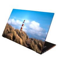 Laptop Folie  Aufkleber Schutzfolie für Notebook Skin uni. Leuchtturm 13-17 Zoll