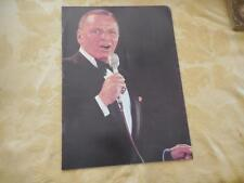 Frank Sinatra 1978 Concert Program Promo Brochure Celeb Roast Very Good