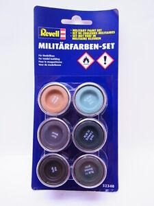 65399 | Revell 32340 Militärfarben-Set Farben für Modellbau 6-teilig NEU in OVP