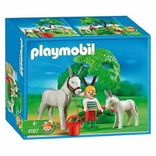 Playmobil 4187 Donkey with Foal NEW