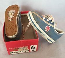 Vintage 1982 Stride Rite Strawberry Shortcake Toddler Shoes Girls Size 6M *USED*