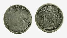pcc2126_24) ROMA Pio VI (1775-1799). Quinto di scudo 1787 A. XIII Munt. 44 Raro