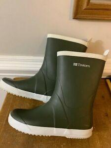 Tretorn Skerry Rubber Rain Boot WOMENS Hunter Green Size 41 or 9.5