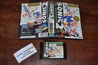 Sonic The Hedgehog 2 Sega Mega Drive NTSC Japan Jap Ottime Condizioni