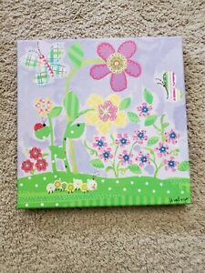 Oopsy Daisy Too Fine Art For Kids 10 inch x 10 inch Lovely Lavender Flower