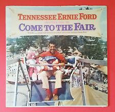 Ernie Ford, Come To The Fair LP Vinyl Record, Gospel Capital Records T1473