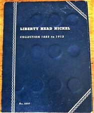 Liberty V-Nickel Collection Book 1883-1913    No Reserve