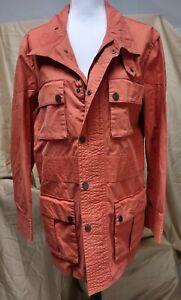Vintage Carolina Herrera Mens Utility Jacket