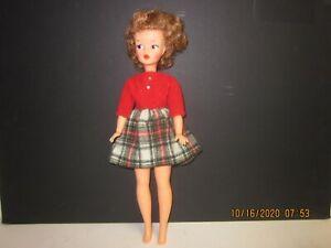 Vintage TAMMY Brunette Ideal DOLL w/Tagged Dress
