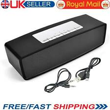 New Wireless Powerful Portable Bluetooth Loud Stereo Speaker Hi-Fi USB TF AUX UK