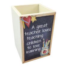 Insegnante Penna Presina – Love Imparare In Legno Matita Scrivania Ordinata