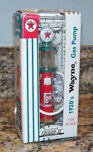 Gearbox Texaco Sky Chief 1920's Wayne Visible Gas Pump Diecast Miniature 07252