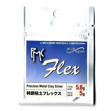 PMC flex Mitsubishi Precious Metal Clay Silver Art Clay 5g Silver