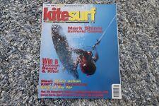 KITESURF MAGAZINE ISSUE 15 JANUARY FEBRUARY 2003 MARK SHINN CHRIS BULL