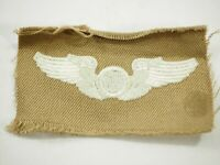 USAF Aircrew Enlisted Wing Patch on Desert Cloth