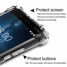 For Nokia 7.1 6.1 5.1 8.1 3.1 1 PLUS 9 PureView 8 6 Shockproof Clear Soft Case