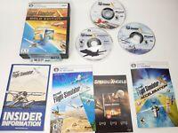 Microsoft Flight Simulator X: Gold Edition (PC: Windows, 2008) 3 Disc w/ Code