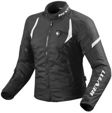 GIACCA MOTO REV'IT REVIT JUPITER 2 LADIES DONNA NERO BLACK BIANC H2O TG 34 38 XS