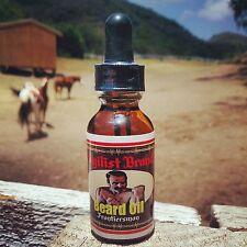 Beard Care Oil by Pugilist Brand - Frontiersman (Jasmine, Vetiver, Coffee)
