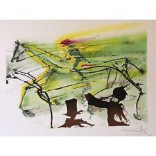 Salvador DALI Chevaux Daliniens Le cheval de course Horse