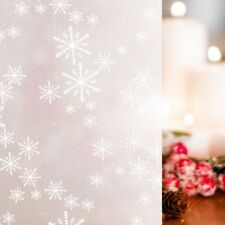 Waterproof Privacy Window Glass Film Sticker Snowflake  for Christmas Decoration