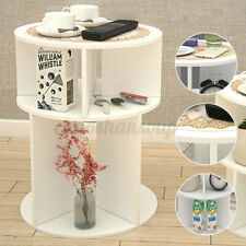 Bedside End Table Modern Nightstand Sofa Side Table Living Room Bedroom 2 Layers