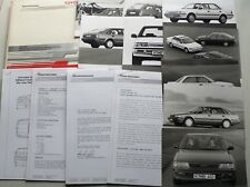 Pressemappe Toyota Carina '90, 2.1990, 4 Textblöcke, 8 Fotos, 0,4 kg